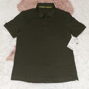 Lululemon Men's Tech Pique Polo Dark Olive Size XL